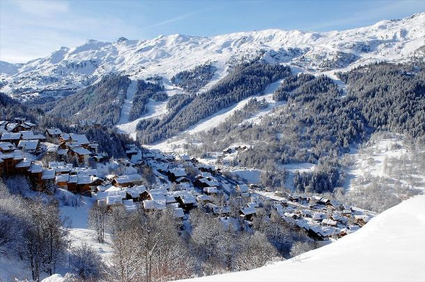 Chalets in Meribel - the Mussillon area