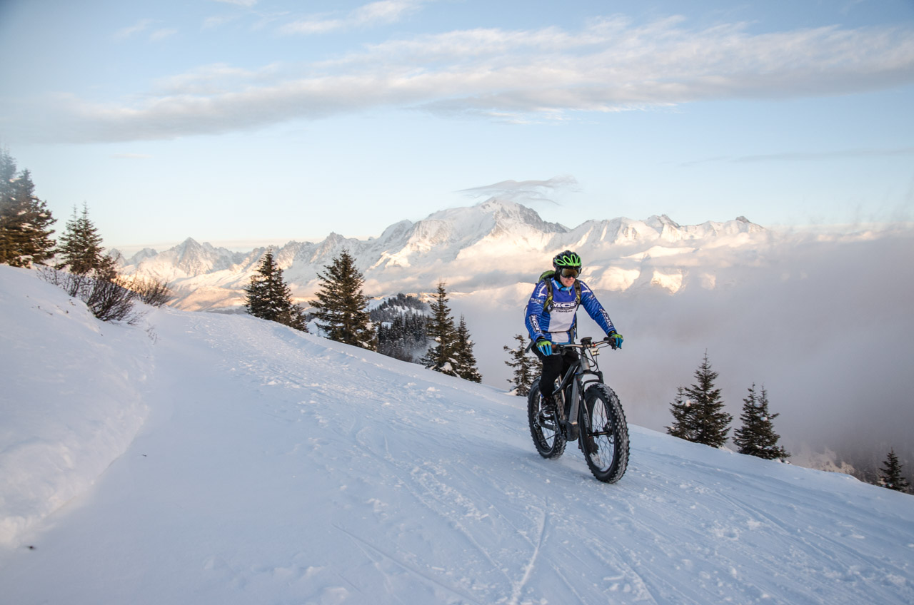Fat Biking in the snow