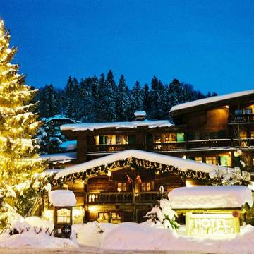 Hotel Fer A Cheval ski hotel in Megeve