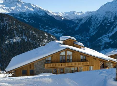 The Penthouse ski chalet in La Rosiere