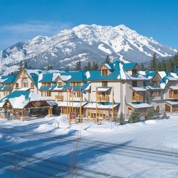Hotel Caribou Lodge ski hotel in Banff