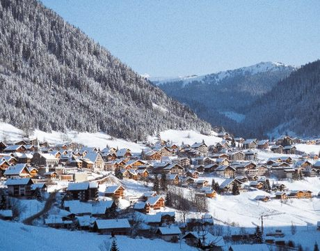 Chalets in Chatel - a pretty French resort within the Portes du Soleil ski area