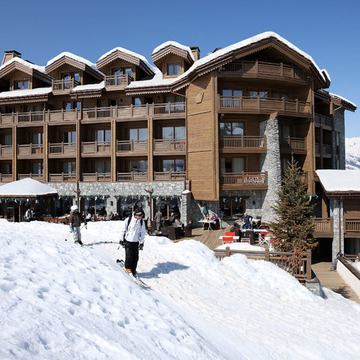 Portetta Lofts ski hotel in Courchevel Moriond