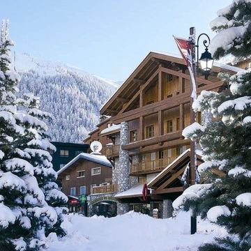 Aspen Lodge Penthouse Mulberry ski chalet in Val d'Isere