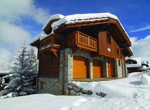 Chalet Bisolet ski chalet in Courchevel Moriond
