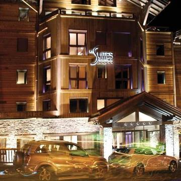 Suites De La Potiniere ski hotel in Courchevel 1850