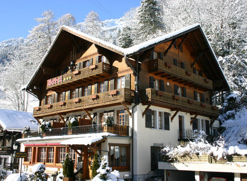 Hotel Beausejour ski hotel in Champery