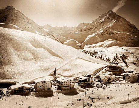 Chalets in Kuhtai Austria - a traditional, family ski resort
