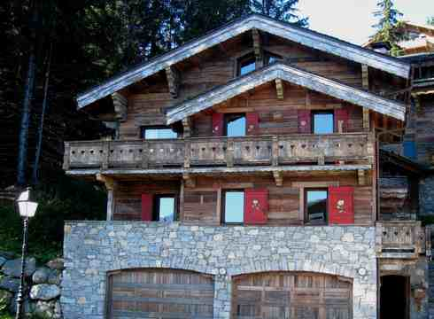 Chalet Chinchilla ski chalet in Courchevel 1850