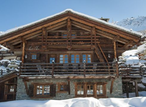 Chalet Le Ti ski chalet in Verbier