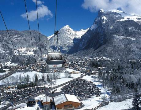 Chalets in Samoens - a charming town linking to the Grand Massif ski area