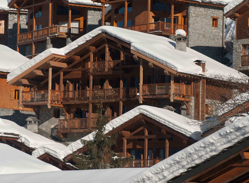 Chalet - The North Face ski chalet in Ste Foy Tarentaise