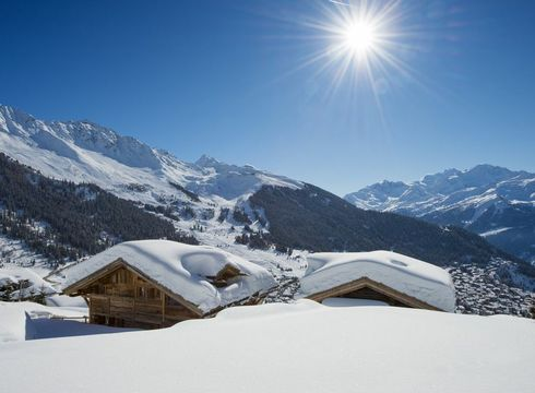 Chalet Nyumba ski chalet in Verbier