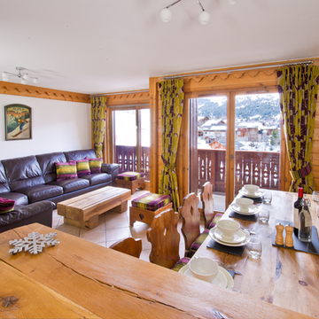 Chalet La Ferme ski chalet in Meribel Village