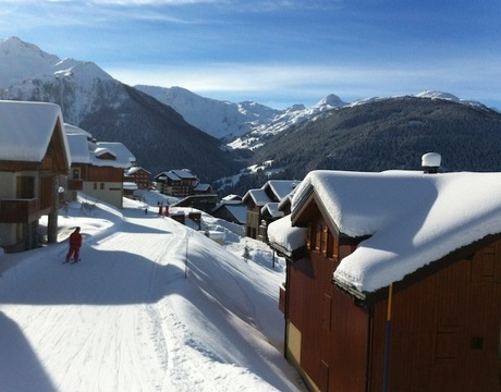 Chalets in Vallandry - offer ski in ski out access to and from the ski slopes