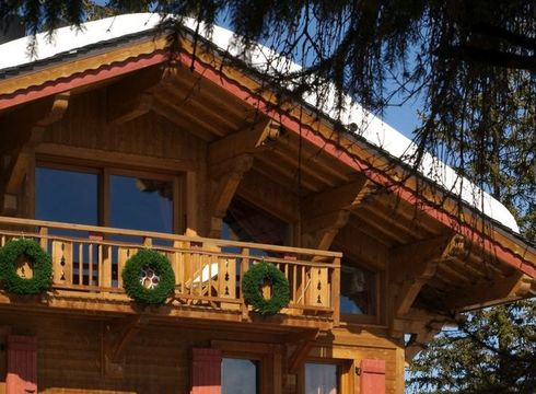 Chalet Aspen ski chalet in Courchevel 1850