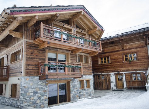 Chalet Emilie ski chalet in Courchevel Le Praz