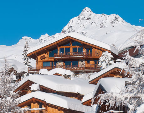 Chalets in La Rosiere - the 'sympathetic' chalet architectural style