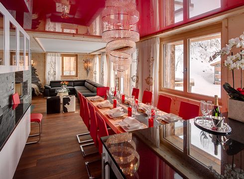 Chalet High Seven Jewel ski chalet in Zermatt