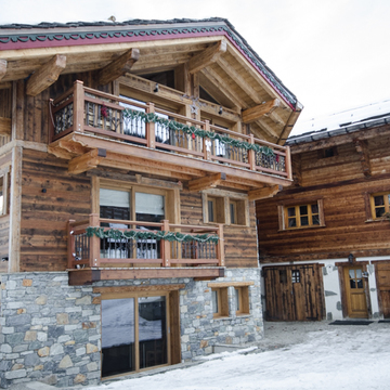 Chalet Grand Jardin ski chalet in Courchevel Le Praz