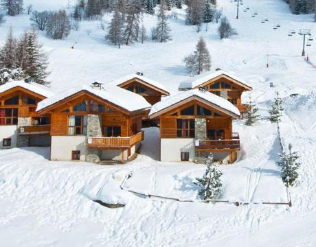 Chalets in Plan Peisey