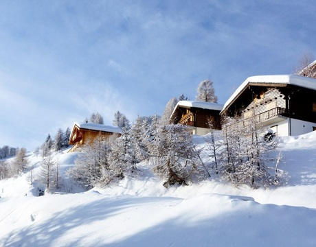 Chalets in Les Collons Switzerland