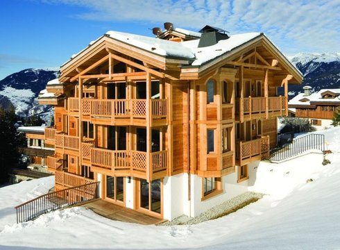 Chalet Blanchot ski chalet in Courchevel Moriond