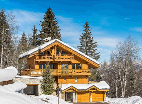 Chalet Chopine ski chalet in Meribel
