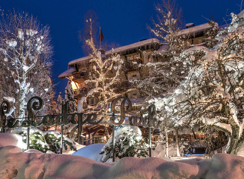 Hotel Lodge Park ski hotel in Megeve