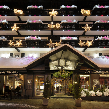 Hotel Mont Blanc ski hotel in Megeve
