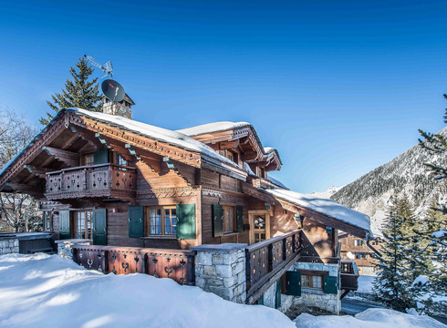 Chalet Amnesia ski chalet in Courchevel Moriond