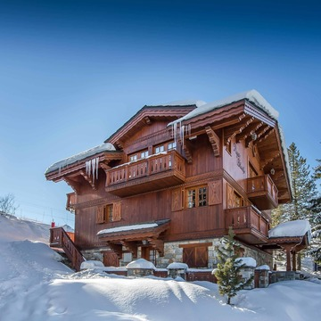 Chalet Agathe Blanche ski chalet in Courchevel Moriond