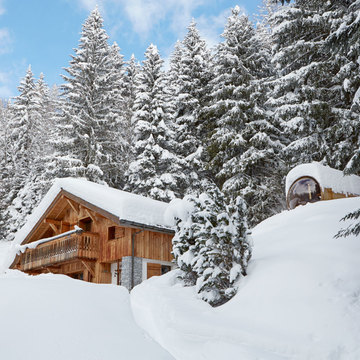 Chalet Marmotte Retreat ski chalet in Argentiere
