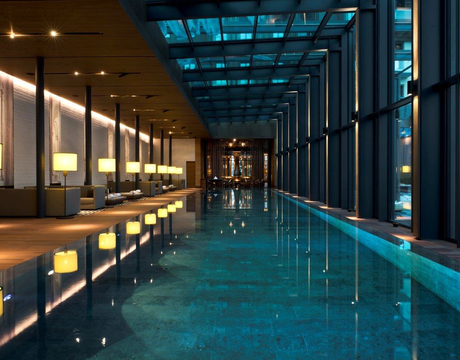 Ski hotels with swimming pool - Hotel Chedi in Andermatt
