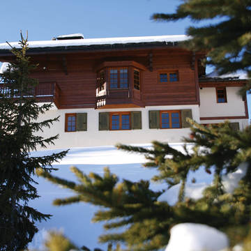 Chalet Founets Aval ski chalet in Courchevel 1850