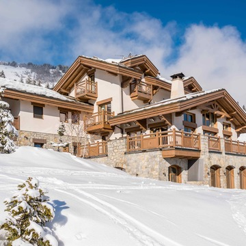 Chalet Shemshak Lodge ski chalet in Courchevel 1850