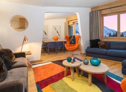 Chalet No.3 Penthouse ski chalet in Avoriaz