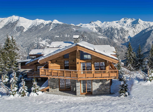 Chalet Ancolie ski chalet in Courchevel Village