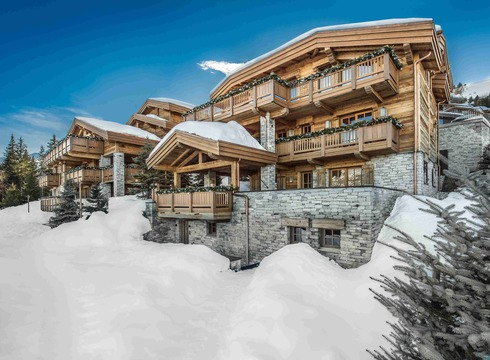 Chalet Cryst' Aile ski chalet in Courchevel 1850