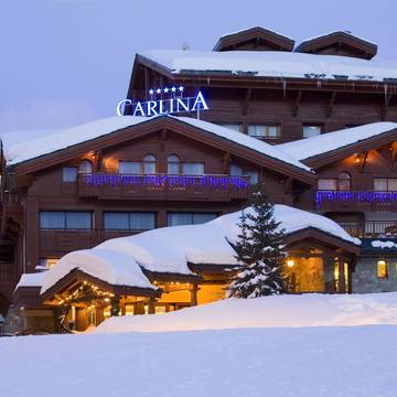 Hotel Carlina ski hotel in Courchevel 1850