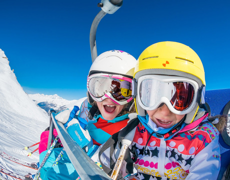 chalets with childcare - perfect for family ski holidays
