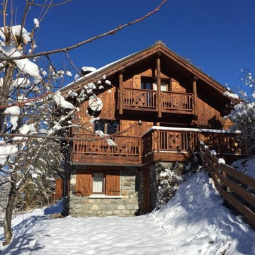 Chalet La Tourterelle ski chalet in Meribel Village