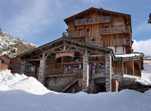 Chalet Loup Blanc ski chalet in Val Thorens