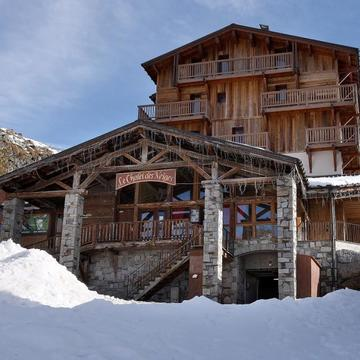 Chalets val thorens loup blanc