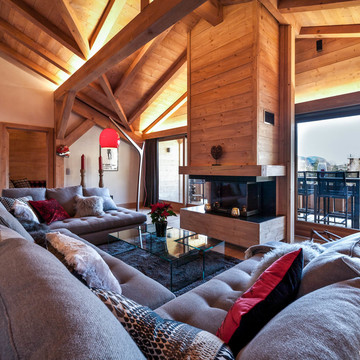 The Penthouse ski chalet in Les Gets