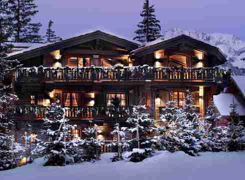 Chalet Le Petit Chateau ski chalet in Courchevel 1850