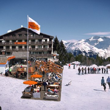 Hotels courchevel 1850 courcheneige