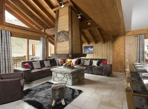 Chalet Aigrette ski chalet in Reberty