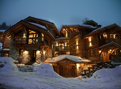 Chalet Benjamin ski chalet in Courchevel Village