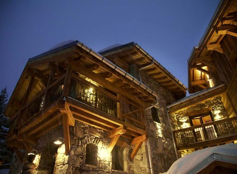Chalet Jacques ski chalet in Courchevel Village